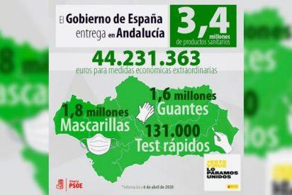 ¡Vergonzoso! El PSOE se adueña de la entrega de material sanitario comprado con fondos públicos: