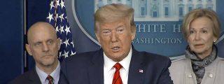 Después de negar la mayor Trump admite lo que viene con el coronavirus: de 100.000 a 240.000 muertos en Estados Unidos