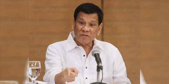 """La machista afirmación de Rodrigo Duterte (Filipinas): """"La presidencia no es un cargo para mujeres"""""""