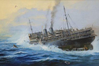 El 'Titanic Soviético': fue hundido en el Mar Negro por los nazis en 1941 con 6.000 personas a bordo