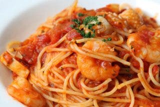 Espaguetis con gambas al ajillo, la receta más deliciosa