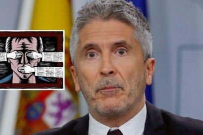 El ministro Grande-Marlaska encargó un informe semanal a la Guardia Civil para vigilar qué dicen de su Gobierno tuiteros y periodistas