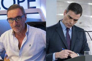Carlos Herrera degrada los pactos de La Moncloa propuestos por Sánchez: