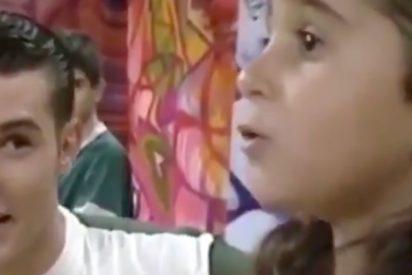 Rescatan un genial vídeo de Jesús Vázquez y Alba Flores hace 30 años y ya es tendencia en España