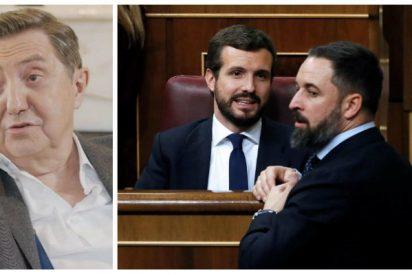 """Losantos exige al centroderecha que no haga el canelo ante el """"golpe de Estado"""" que está dando Pedro Sánchez"""