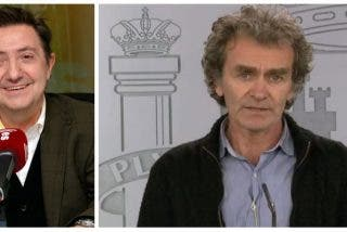 Losantos se marca una tronchante imitación del 'experto' Fernando Simón al que acusa de negligencia criminal