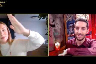 Ester Expósito descubre en TV cómo surgió el vídeo 'perreando' en su habitación con el que arrasó la Red