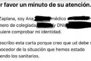 """La carta a los políticos de una médico que contagió a su propia madre, que murió: """"No pidan perdón"""""""