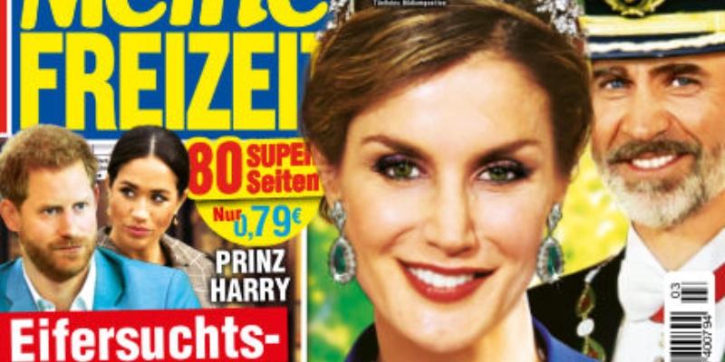 La prensa alemana sostiene que doña Letizia está embarazada y desvela el sexo del bebé