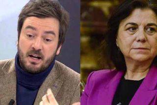 Navajazos en 'El Mundo': Lucía Méndez se pone como una hiena por un tuit de Bustos sobre Marlaska