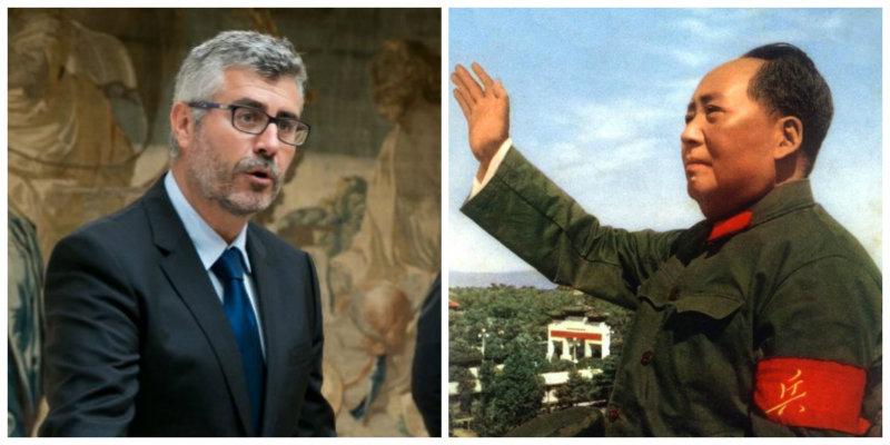 Miguel Angel Oliver, alias 'MAO' para los periodistas, comisario censor de Pedro Sánchez y enemigo de la libertad