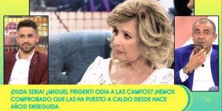 Perplejidad en 'Sálvame' tras el repaso de María Teresa Campos a los colaboradores: