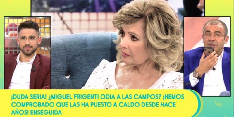 """Perplejidad en 'Sálvame' tras el repaso de María Teresa Campos a los colaboradores: """"Nos ha inflado a palos"""""""