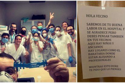 Jesús Monllor, el médico al que un vecino instó a irse del edificio: