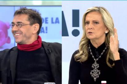 Isabel San Sebastián recomienda un psiquiatra al 'obseso' Monedero: