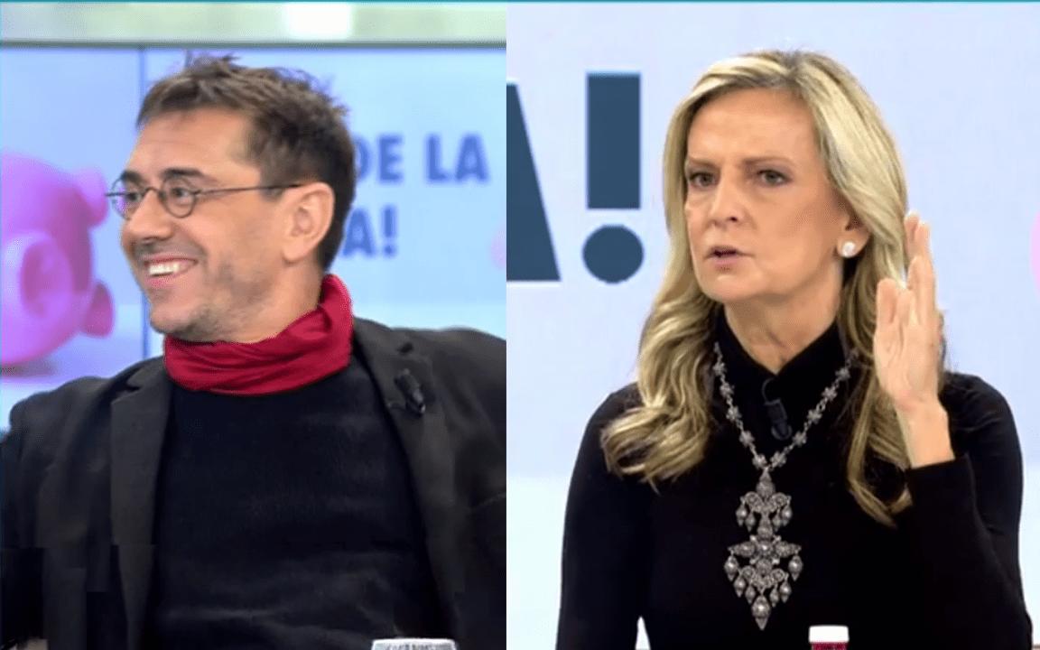 """Isabel San Sebastián recomienda un psiquiatra al 'obseso' Monedero: """"Háztelo mirar. Sí se puede"""""""