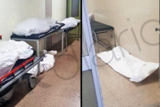 Coronavirus / Las imágenes que Sánchez no quiere que veas: cadáveres hacinados en los pasillos de los hospitales de Madrid