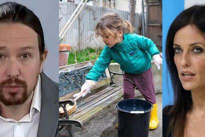 """El discurso estalinista de Iglesias alerta a Cristina Seguí y otros padres: """"Intenta ponerle una mano encima a mi hijo, psicópata"""""""