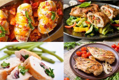 Cuatro riquísimas maneras de cocinar pechugas de pollo