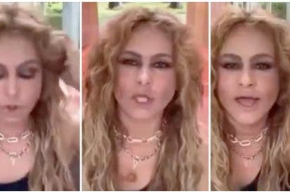 """Una bochornosa actuación en directo de Paulina Rubio precipita las sospechas: """"¿Qué ha tomado?"""""""