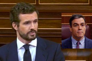 Casado obliga a Sánchez y a todo el Congreso a guardar un minuto de silencio por los muertos del coronavirus