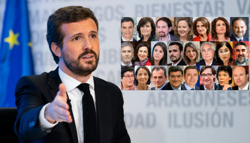 """El Gobierno PSOE-Podemos considera """"populismo"""" bajar los sueldos de los ministros o reducir ministerios"""