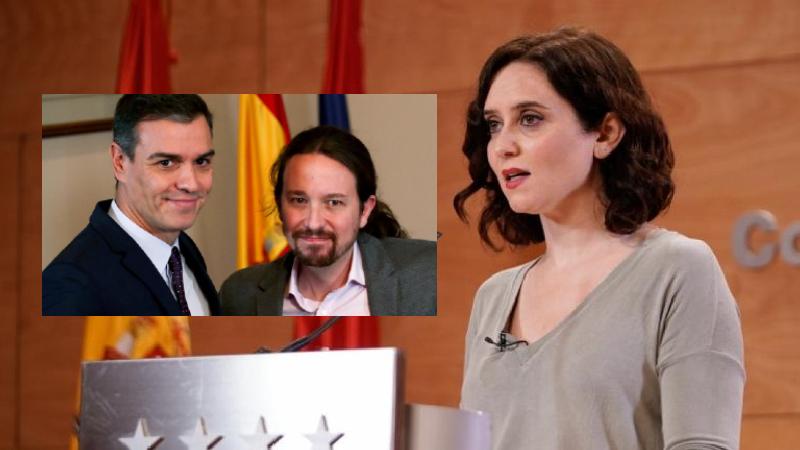 Ayuso denuncia ante el Tribunal Supremo a Sánchez por negar a Madrid el ascenso a la fase 1