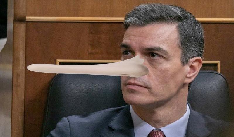 Pedro Sánchez Pinocho: cuando se es a la vez mentiroso e ...