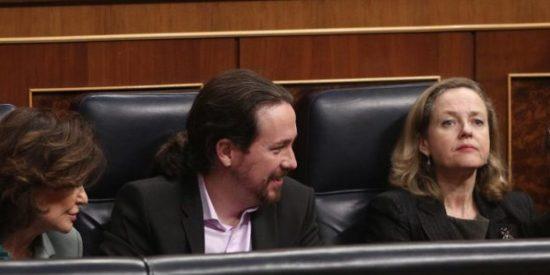 Hartazgo de los ministros socialistas ante las cacicadas comunistas de Podemos: Robles, Calviño y Marlaska ponen a parir a Iglesias en privado