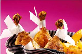 Pollo al curry con patatas