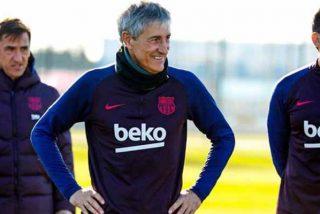 """Quique Setién dispara los nervios madridistas: """"No me voy a sentir campeón aunque tenga dos puntos más"""""""