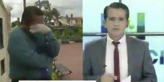 Un reportero rompe a llorar en directo al informar de las terribles consecuencias del coronavirus en Ecuador