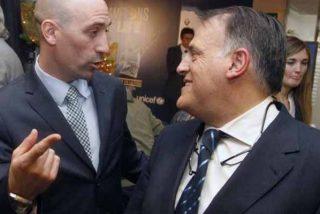 """Tebas, sobre la reelección de Luis Rubiales a la RFEF: """"Todo el mundo sabe mi opinión"""""""