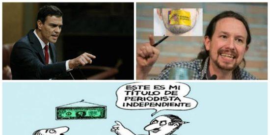 El plan 'económico' que urde el Gobierno Sánchez-Iglesias para domesticar periodistas