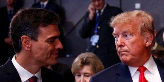 Trump da una 'cátedra económica' a Pedro Sánchez: EEUU crea 1.763.000 puestos de trabajo en un mes