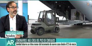 """El Quilombo / El genuflexo Fernando Garea reaparece para defender las chapuzas del Gobierno: """"Es normal que haya improvisación"""""""