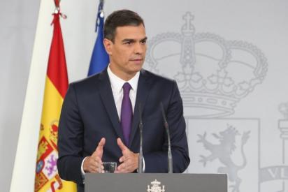 Sánchez protagoniza otro vacuo 'Aló presidente': anuncia que el 2 de mayo se podrá salir a hacer deporte sin saber la evolución del coronavirus