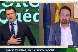 Iñaki López protege a Pablo Iglesias y 'esconde' la gran pregunta sobre las caceroladas