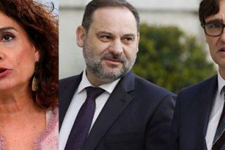 Caos en Moncloa: Ábalos e Illa mandan a 'callar' a Montero por poner fecha al final del estado de alarma