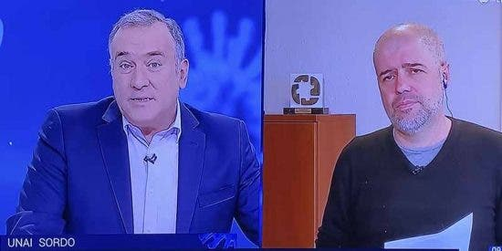 Vergüenza sindical: Unai Sordo (CC.OO.) pelotea al Gobierno en TVE en medio de las dantescas cifras de paro por la crisis sanitaria