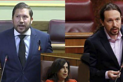 Roca (VOX) de un repaso a Margarita Robles (PSOE) por meter al 'infame' Iglesias en el CNI