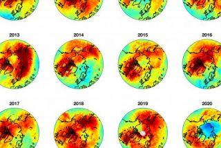 El misterioso y caluroso cierre del mayor agujero de ozono jamás detectado en el Ártico