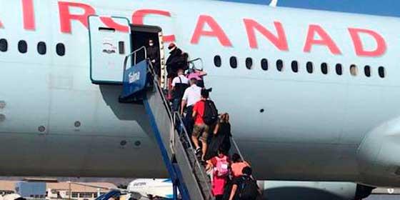 2.700 canadienses varados en Perú retornaron a su país