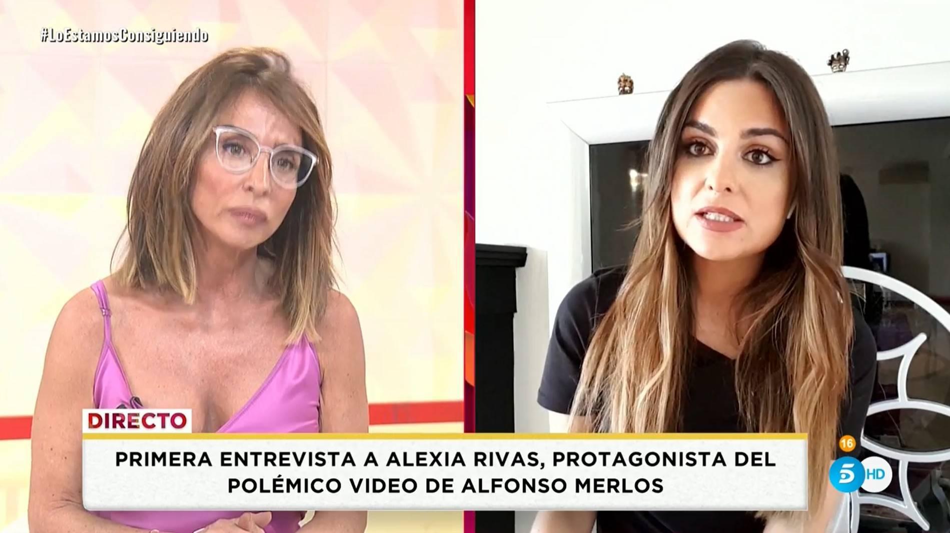María Patiño destapa todas las traiciones de Alexia Rivas: ¿La novia de Merlos se va quedar en la calle?