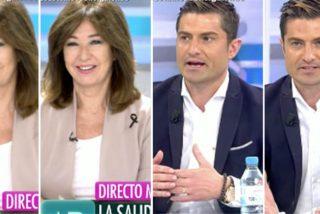Los chascarrillos de Ana Rosa Quintana en la reaparición en TV de Alfonso Merlos