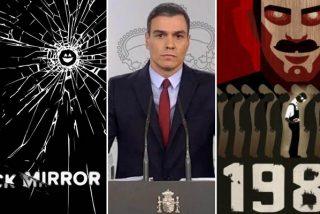 ¿'Black Mirror' o 'Gran Hermano'?: el Gobierno Sánchez espiará a través del móvil a todos los españoles atacando otro derecho fundamental