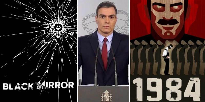¿'Black Mirror' o 'Gran Hermano'? El Gobierno Sánchez espiará a través del móvil a todos los españoles atacando otro derecho fundamental