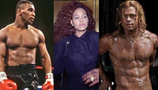 """Mike Tyson recuerda el día que descubrió a Brad Pitt con su exmujer:""""Me suplicó que no le pegara"""""""