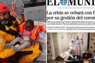 """El mayor autozasca del siglo: el fundador del Open Arms critica """"la deleznable"""" portada de El Mundo tras llenar su Twitter de cádaveres en el Mediterráneo"""