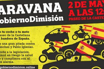 Sal a la calle con tu vehículo a pitar al Gobierno: ¡Caravana #GobiernoDimisión en marcha!